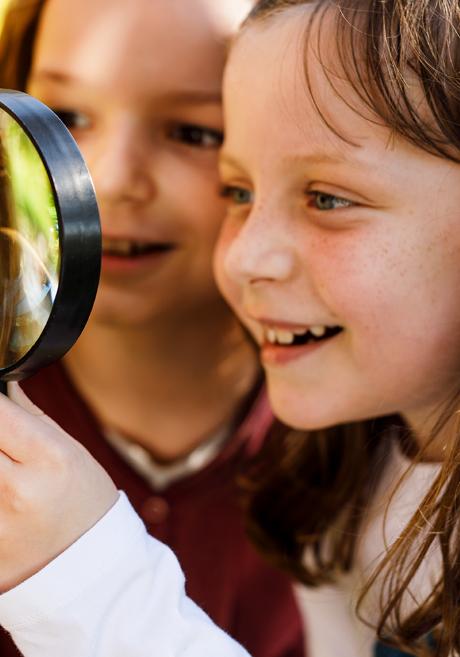 Kinder Entdecken die Natur in einer educcare kita
