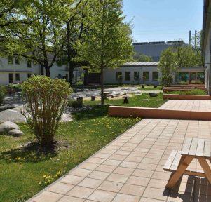 Krippengarten der Unternehmenskita Strolchegarten der BMW Group