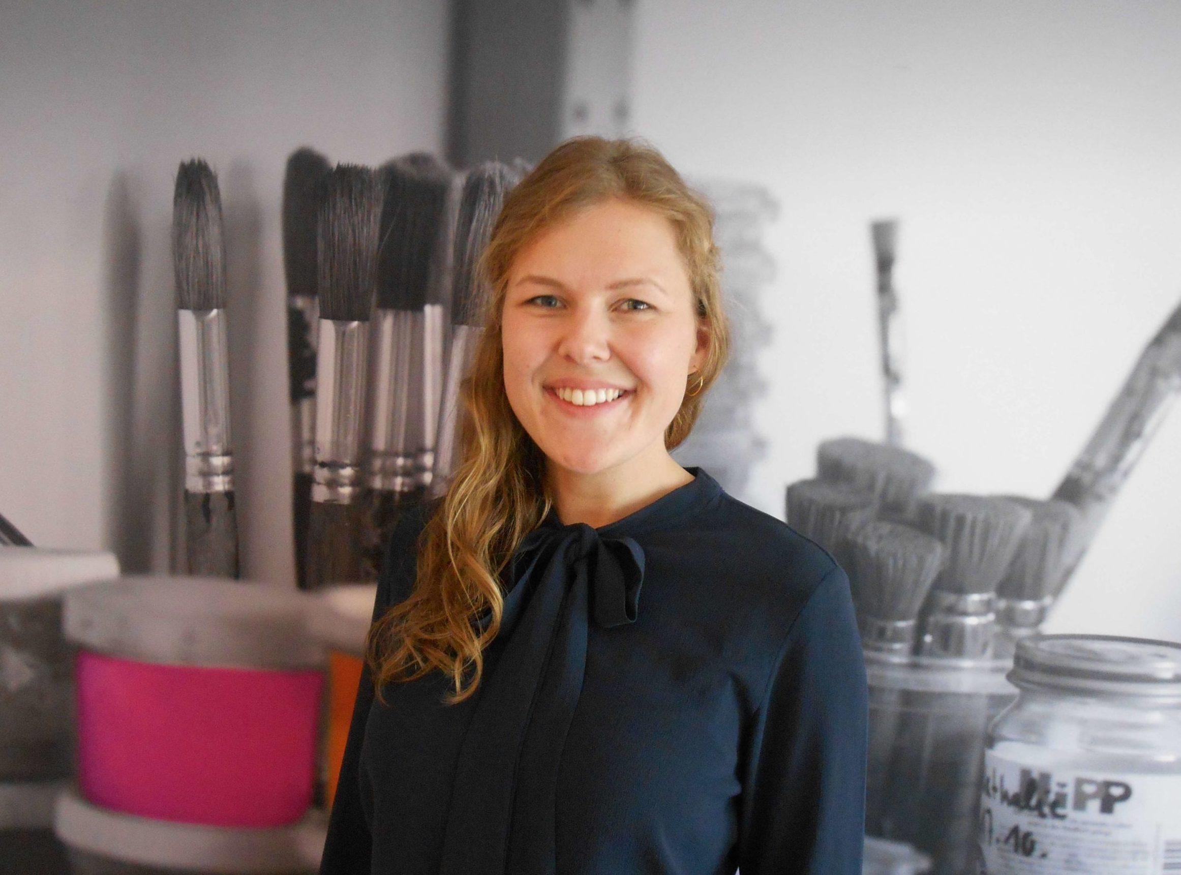 Ansprechpartnerin im Bewerbermanagement bei educcare Anne Sophie Wohllebe