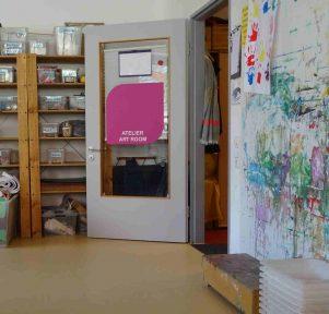 Atelier der Kita Hasenbergstraße in Stuttgart West