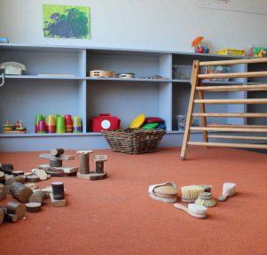 Krippe der Kita KinderUniversum in Karlsruhe