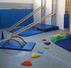 Turnhalle der Kita KinderUniversum in Karlsruhe