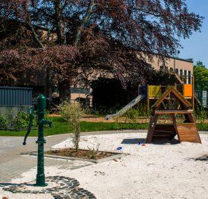Spielplatz der Kita Campus Wohnen in Aachen