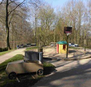 Außengelände der Kita Minimäx in Bergisch Gladbach