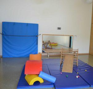 Turnhalle der Kita Darmstadt TU Kinderhaus Lichtwiese