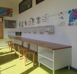 Atelier der Kita Siegbogen in Hennef