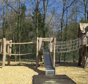 Spielplatz der Kita Die Sprösslinge in Monheim