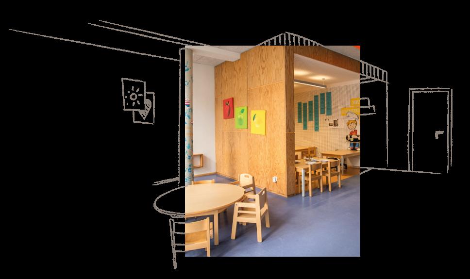 Einrichtung einer Educcare Kita als Sinnbild für die Beratung von Unternehmen und Kommunen