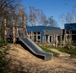 Garten der Kita Weltenbummler in Monheim am Rhein