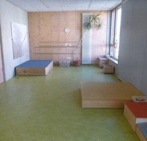 Bauzimmer der Kita Zuffenhausen I in Stuttgart