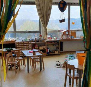 Blick in die Hummelgruppe der Kita der bunte Luftballon in Overath