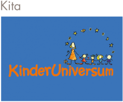 """Logo der Kita """"Kinderuniversum"""" in Karlsruhe"""