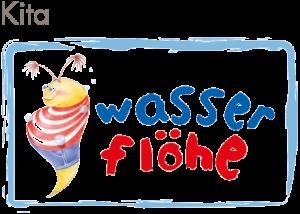 "Logo der Kita ""Wasserflöhe"" in Karlsruhe"