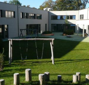 Garten der Kita RatZFatz in Friedrichshafen