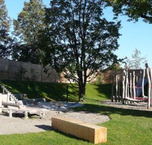 Spielplatz der Kita RatZFatz in Friedrichshafen