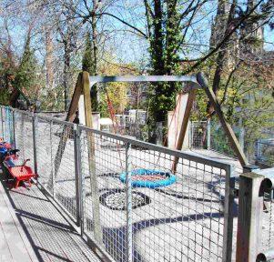 Garten der Kita Die kleinen Weltentdecker in Stuttgart West
