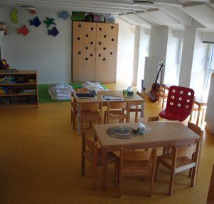 Gruppenraum der Kita Die kleinen Weltentdecker in Stuttgart West