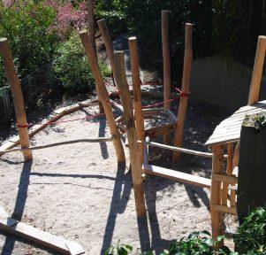 Kletterpark der Kita Die kleinen Weltentdecker in Stuttgart West
