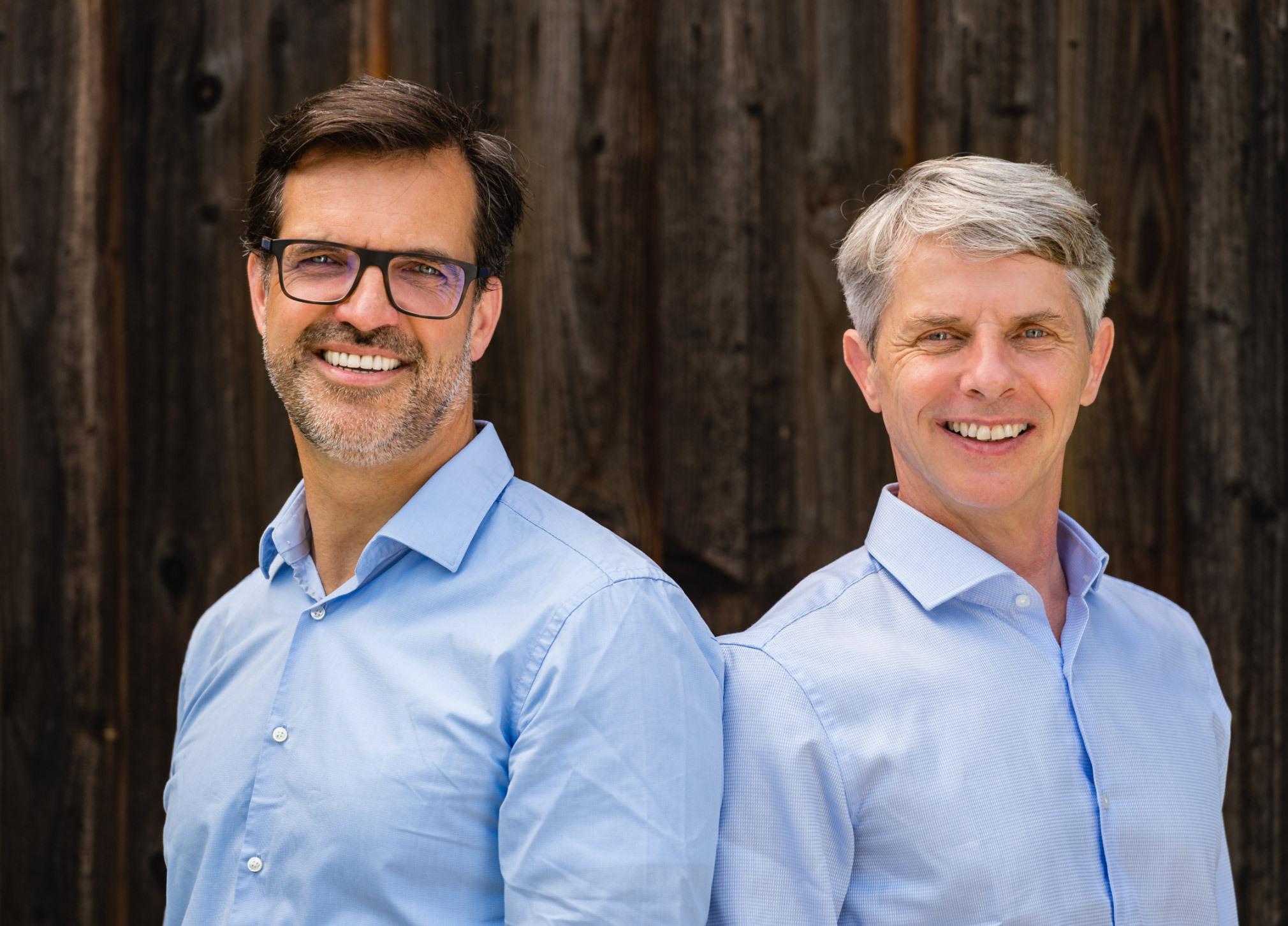 Marcus Bracht und Axel Thelen Die Geschäftsführer der Educcare Bildungskindertagesstätten gGmbH