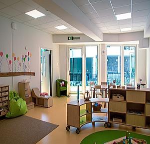 Kita Aachen Campus Wohnen Innenbereich educcare