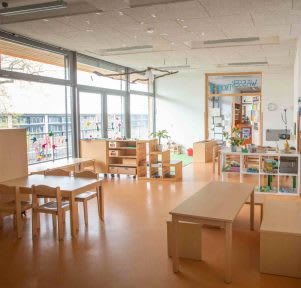 Kita Karlsruhe Wasserflöhe Spielraum educcare
