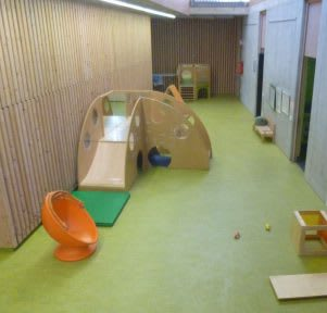 Kita Stuttgart Zazenhaus Zuffenhausen 1 Bewegungsraum educcare